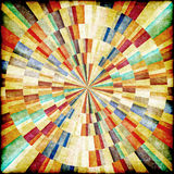Multicolor Sunbeams grunge background. Royalty Free Stock Photos