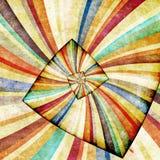 Multicolor Sunbeams grunge background Stock Image