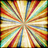 Multicolor Sunbeams grunge background Stock Images