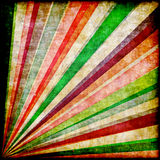 Multicolor Sunbeams grunge background Royalty Free Stock Photo