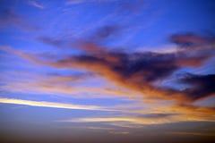 Multicolor sunrise sky Stock Photo