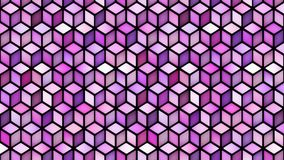 Multicolor sześcianu kształta ruchu Gradientowa pętla zbiory