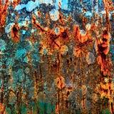 Multicolor textur för abstrakt grunge. Arkivfoto