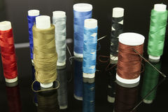Multicolor thread Royalty Free Stock Images