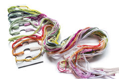 Multicolor thread Royalty Free Stock Image