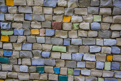Multicolor tiles Royalty Free Stock Photo