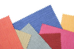 Multicolor tone of fabric sample Stock Photography
