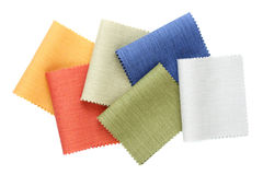 Multicolor tone of fabric sample Royalty Free Stock Image