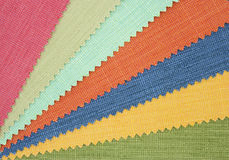 Multicolor tone of fabric texture sample Royalty Free Stock Image