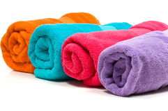 Multicolor Towels Stock Photography