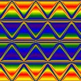 Multicolor trójboka tęczy neonowy tło, Multicolor neonowy jarzeniowy tło Zdjęcia Stock
