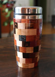 Multicolor Travel Mug Royalty Free Stock Image