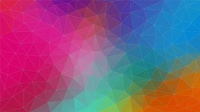 Multicolor triangle abstrat background.. Eps10 vector. vector illustration