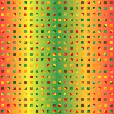 Multicolor triangle pattern. Seamless vector Stock Photos