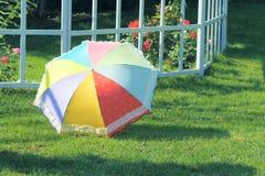 Multicolor umbrella Royalty Free Stock Image