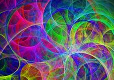 multicolor vektor för abstrakt bakgrundsillustration Royaltyfri Foto