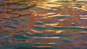 Multicolor Water Surface stock video footage