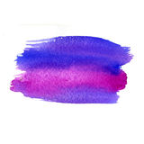 Multicolor watercolor strokes texture. Saturate Stock Photo