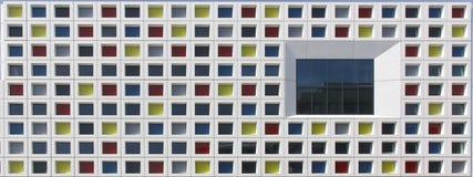 Multicolor Windows Royaltyfri Foto