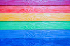 Multicolor of wooden background Royalty Free Stock Image
