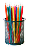 Multicolor wooden pencils Royalty Free Stock Image