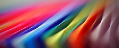 Multicolor zamazany papierowy abstrakcjonistyczny tło zdjęcie stock
