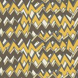 Multicolor zigzag line seamless pattern. Vector Royalty Free Stock Photography