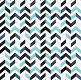 Multicolor zigzag seamless pattern. Modern Colour trends. Royalty Free Stock Photography