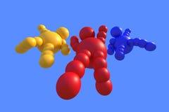 multicolore astratto 3D Fotografia Stock
