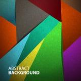 Multicolore astratto del fondo Fotografie Stock