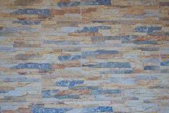 Multicolore du beau fond de texture de couleur de mur de briques de céramique en pierre pour la conception d'intérieurs d'art dan photos libres de droits