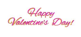Multicolore rosa-rosso della decorazione dei cuori di amore Relazione felice romantica di gioia Concetto della cartolina d'auguri Fotografie Stock