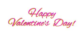 Multicolore rouge-rose de décoration de coeurs d'amour Relations heureuses romantiques de joie Concept de carte de voeux de jour  Photos stock