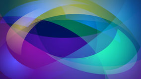 Multicolored abstract background. Abstract background of curved lines in multicolored colors Royalty Free Stock Image