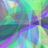 Multicolored abstract background from curves - vector design. Multicolored abstract background from dynamic curves - vector design Stock Photography
