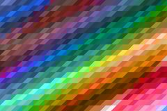 Multicolored Abstract Background with Mosaic Effect royalty free illustration