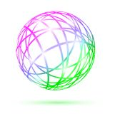 Multicolored abstract ball Royalty Free Stock Photography