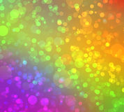 Multicolored abstract bokeh background Stock Images