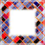 Multicolored abstract border Stock Photography