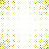 Multicolored abstract dot pattern background Stock Photos
