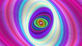 Multicolored abstract ellipse background - seamless loop. Multicolored abstract ellipse spiral background - seamless loop motion graphic design stock footage