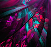 Multicolored abstract figures Royalty Free Stock Image