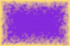 Multicolored Abstract futuristic halftone pattern. Comic backgro Royalty Free Stock Image