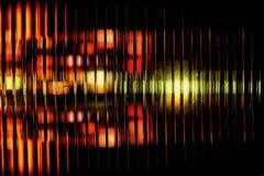 Multicolored abstract onduidelijk beeld als achtergrond van Royalty-vrije Stock Afbeeldingen