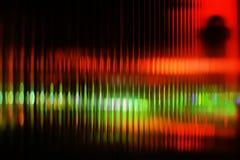 Multicolored abstract onduidelijk beeld als achtergrond van Stock Afbeeldingen