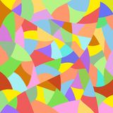 Multicolored abstract quilt pattern background Stock Photography