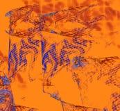 Multicolored abstracte cijfers Royalty-vrije Stock Foto's