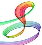 Multicolored abstractie royalty-vrije illustratie