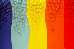 Multicolored achtergrond Royalty-vrije Stock Afbeeldingen