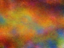 Multicolored achtergrond met geruïneerd en ruw effect, illustratie Stock Afbeelding